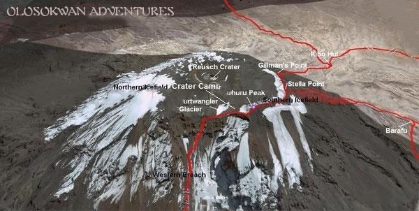 Kilimanjaro Crater Route