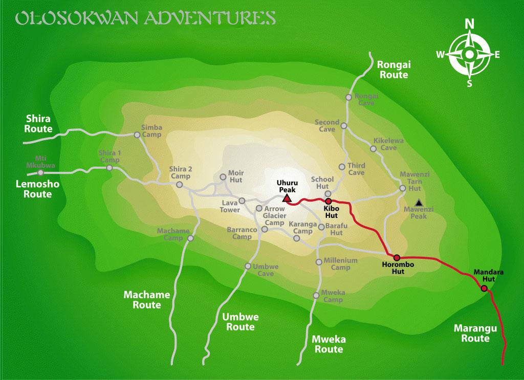 Marangu-Route.Olosokwan Adventures