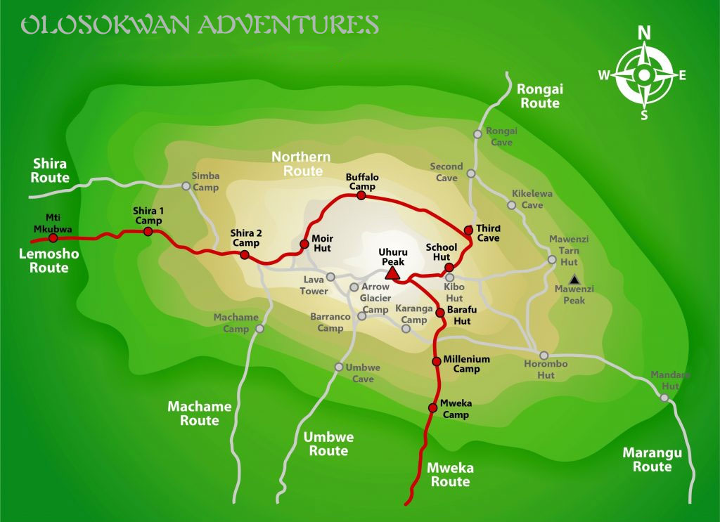 Northern-Circuit-Route.Olosokwan Adventures