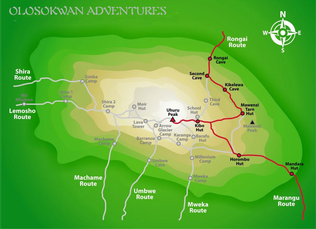 Rongai-Route.Olosokwan Adventures